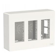 Накладная установочная коробка Schneider Electric NU123418 Unica System+ 3х2 (белый)
