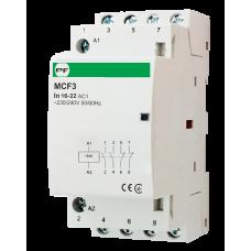 Модульный магнитный пускатель MCF3 16-22 24V