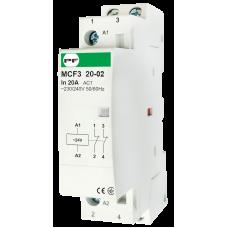 Модульный магнитный пускатель MCF3 20-02 24V