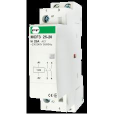 Модульный магнитный пускатель MCF3 25-20 24V