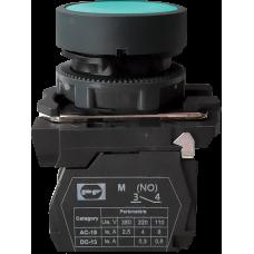 Выключатель кнопочный FP PCP Pl 1NO зеленый