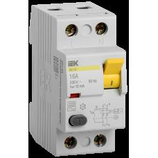 ПЗВ (пристрій захисн. відкл.) ВД1-63 2Р 16А 10мА IEK