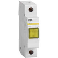 Сигнальна лампа ЛС-47 (жовта) (неон) IEK
