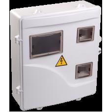 Корпус пласт. ЩУРн-П 3/6 для 3-ф лічильника навісний 400х350х125 IP55