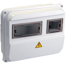 Корпус пласт. ЩУРн-П 1/3 для 1-ф лічильника навісний 220х270х110 IP55