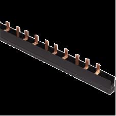 Шина з'єднувальна PIN 3Р 100А крок 27мм довж. 1м IEK
