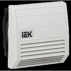 Вентилятор з фільтром 21 куб.м./год IP55 IEK