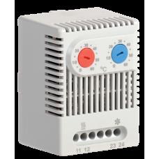 Термостат двоканальний від 0 до +60°C NO+NC IEK