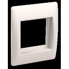 Рамка та супорт для К.К. універсал. на 2 модулі