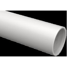 Труба гладка жорстка ПВХ d63 IEK сіра (15м)