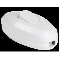 ВБ-01Б Вимикая одноклавішний разбірний для бра, білий IEK