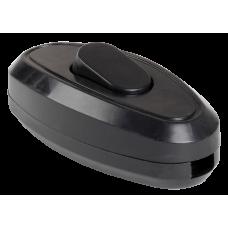 ВБ-01Ч Вимикая одноклавішний разбірний для бра, чорний IEK