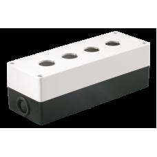 Корпус КП104 для кнопок 4місця білий IEK
