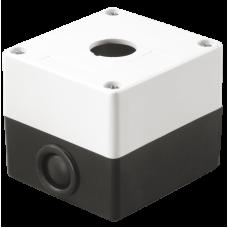 Корпус КП101 для кнопок 1місце білий IEK