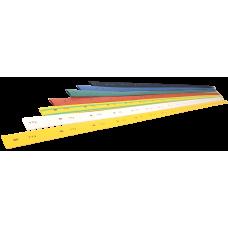 Термоусадна трубка ТТУ 1/0,5 жовта 1 м IEK