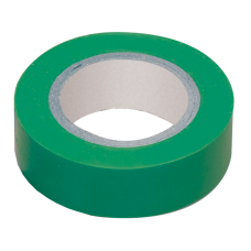 Ізоляційна стрічка 0,13х15 мм зелена 20 метрів IEK