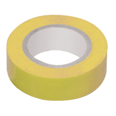 Ізоляційна стрічка 0,18х19 мм жовта 20 метрів IEK