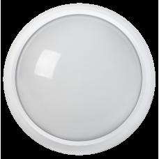 Світильник світлодіодний ДПО 3010Д 8Вт 4500K IP54 коло білий пластик IEK