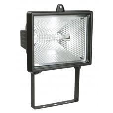 Прожектор ИО500 галогенний чорний IP54 IEK
