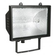Прожектор ИО1000 галогенний чорний IP54 IEK