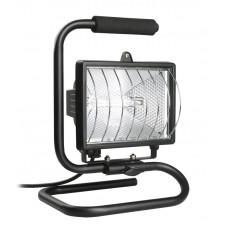 Прожектор ИО500П (переноска) галогенний чорний IP 54