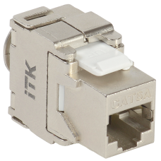 ITK Модуль Keystone Jack кат.6A STP, IDC Dual, верт. зад.