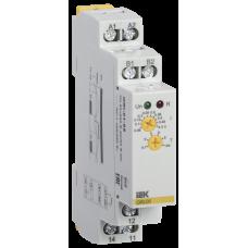 Реле струму ORI. 0,05-0,5 А. 24-240 В AC / 24 В DC IEK