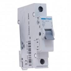 Автоматический выключатель MC140A (1р,С,40А) Hager
