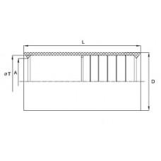 Муфта для труб гофрированных 40 мм, IP40, DKC