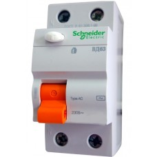 УЗО Schneider Electric ВД63 2P 25A 30mА